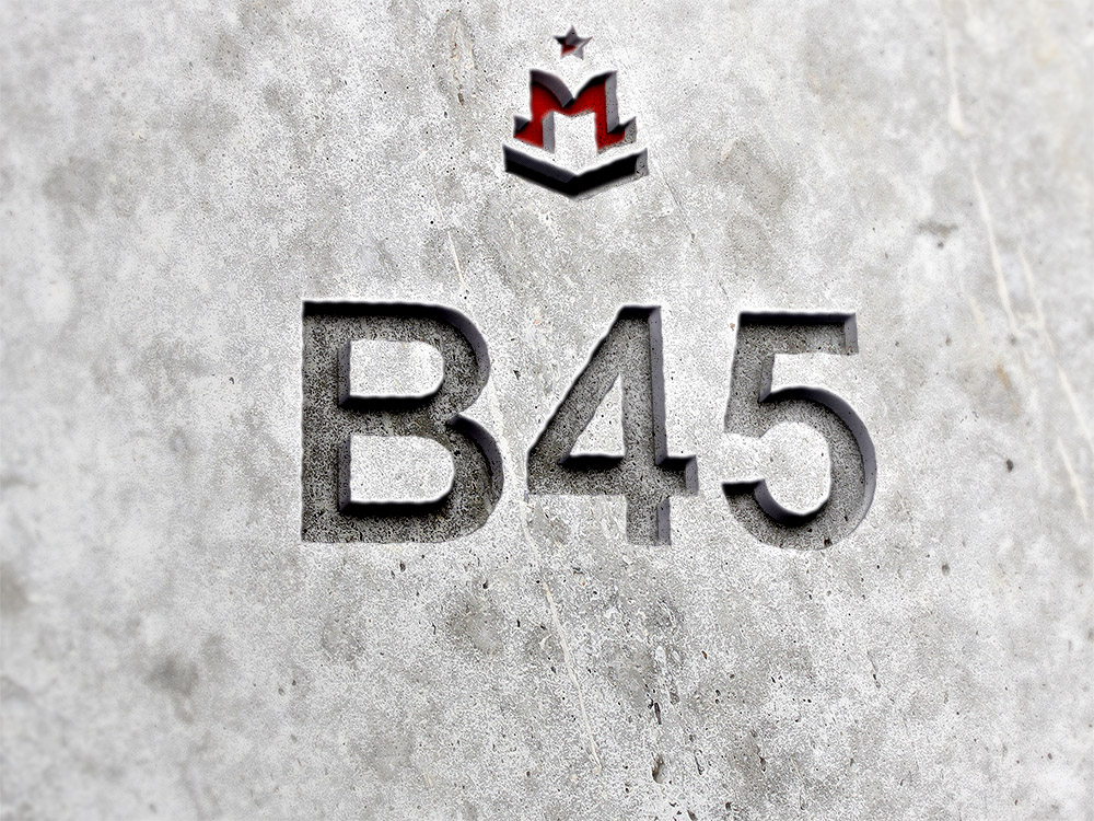 b45 бетон