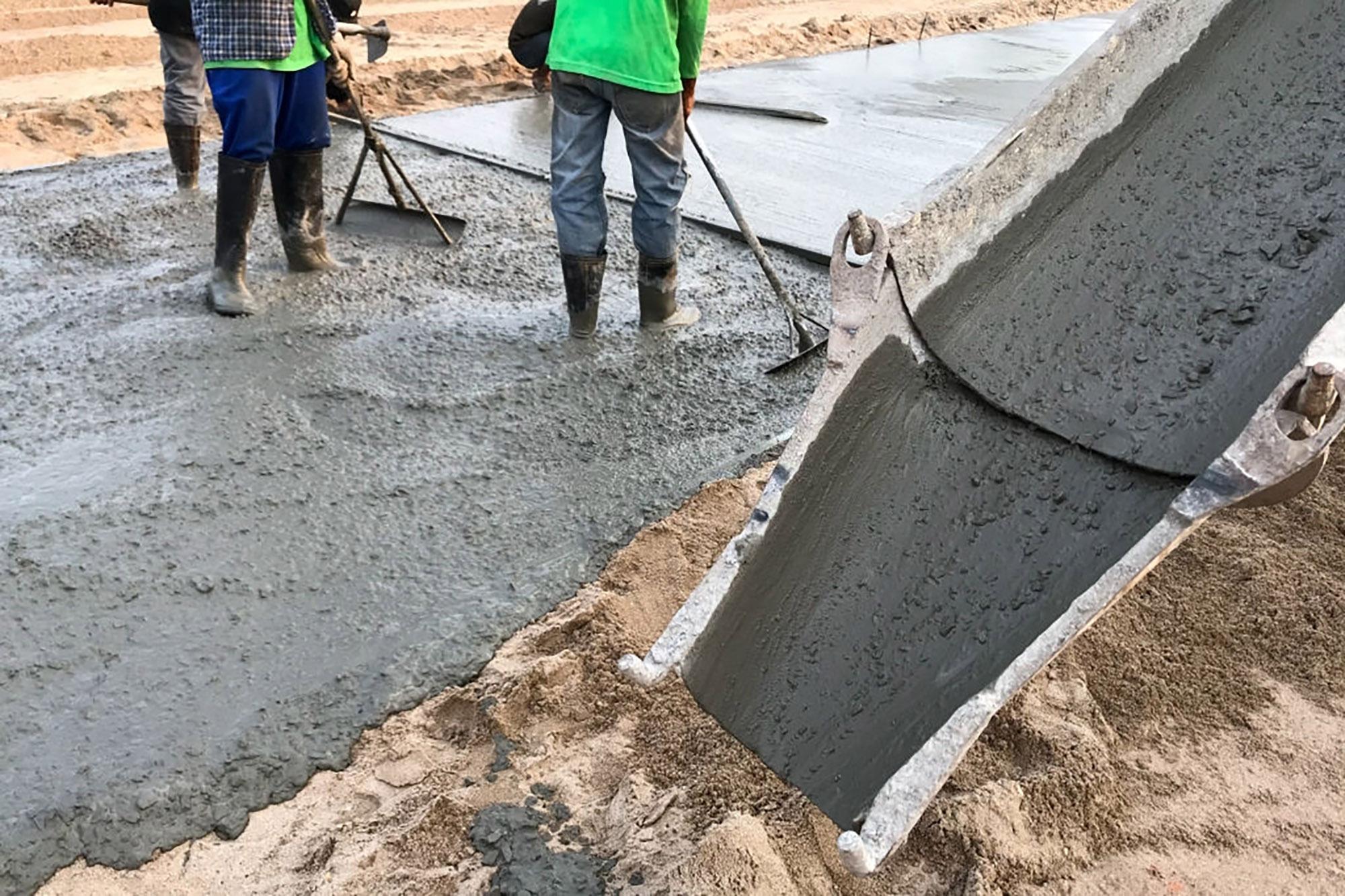 пробивание бетона